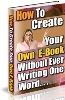 How Create Your Own E-book