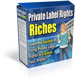 Product picture Private Label Rights Riches