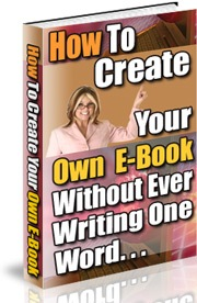 Product picture How Create Your Own E-book